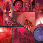 nightmare world double page spread