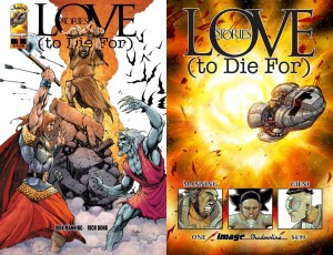 Love stories to die for comic